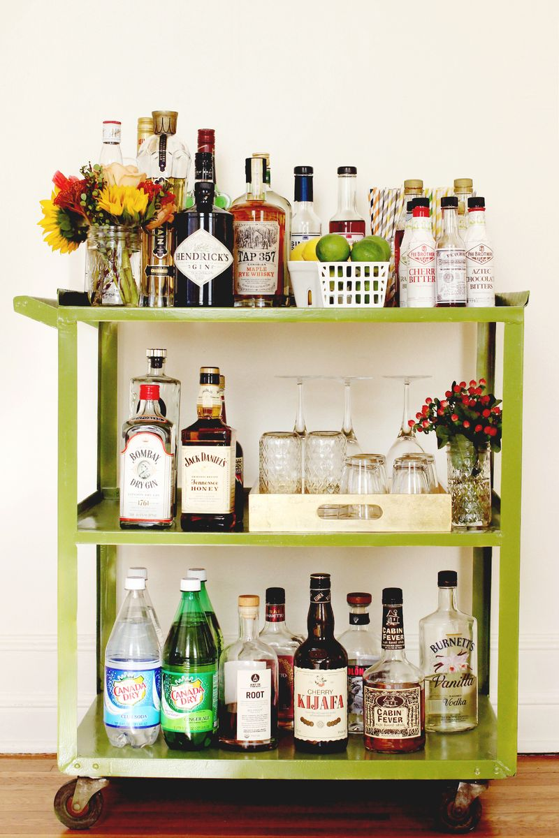 Wedding Bar Carts Darian And Dechele Events